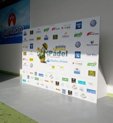 Photocall Torneo de Padel