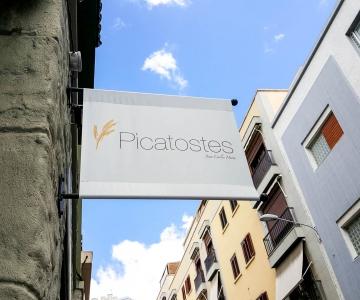Letrero Picatostes