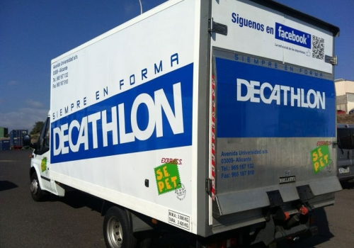 Cabina Decathlon