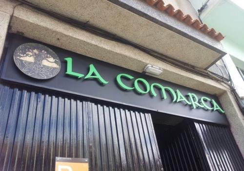 Rótulo La Comarca