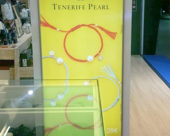 Cartel retroiluminado Tenerife Pearl