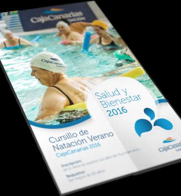 Cartel cursillos de natación