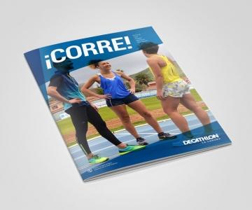Revista ¡Corre! para Decathlon