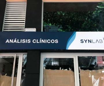 Rótulo exterior Synlab