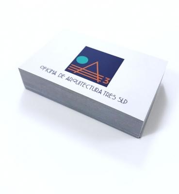 Tarjetas de visita Oficina de Arquitectura 3