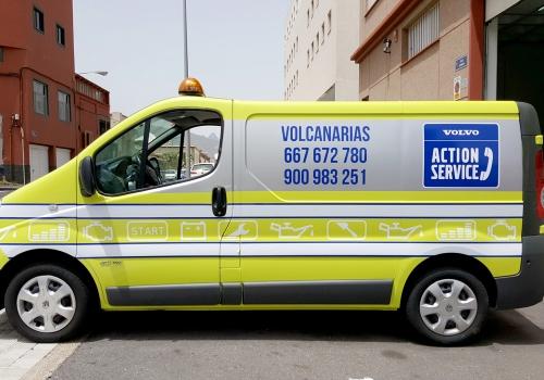 Furgón Volvo Action Service