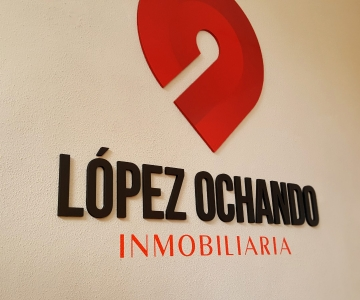 Rotulación interior Lopez Ochando