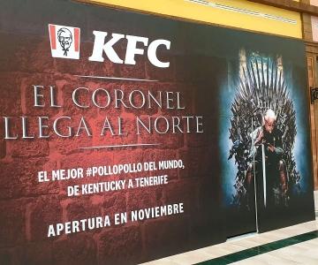 Mural «El Coronel llega al norte» para KFC