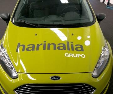Rotulación coche Harinalia