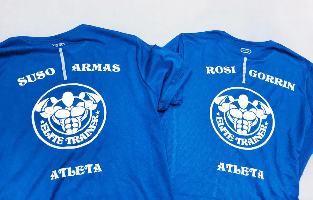 Camisetas Elite Trainer